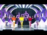 Red Velvet - Huff N Puff & Dumb Dumb @ Music Bank 150911