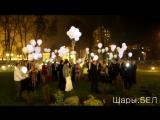 Светящиеся шары в Минске. Светодиодные шарики на свадьбу. Led шары. Воздушные шары с доставкой.