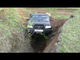 УАЗ 4x4   Рок Кроулинг по Челябински
