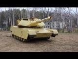 Обзор страйкбольного танка Абрамс M1A2. (Airsoft tank Abrams M1A2) [Обзоры Red Army Airsoft]