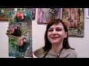 Декор декупаж с фотографиями распечатками видео МК по Микс Медиа Mixed Media Натальи Жуковой