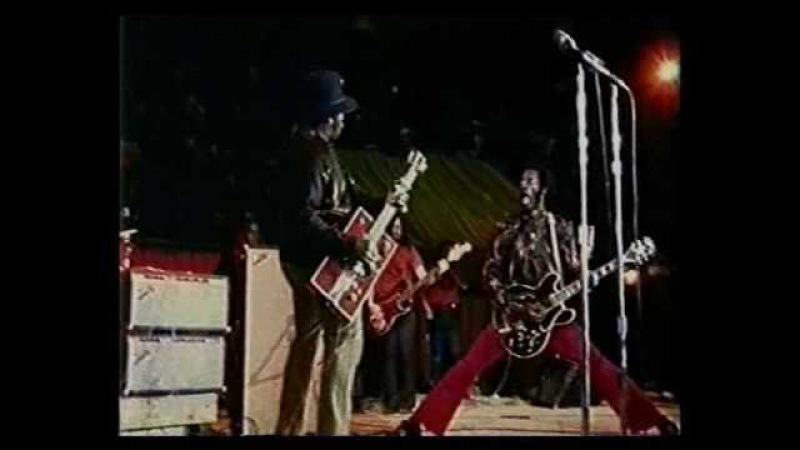 Chuck Berry Bo Diddley Together LIVE