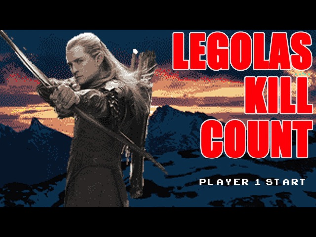 LEGOLAS KILL COUNT - Auralnauts Arcade Edition