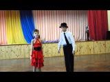 Молоді таланти Чернігова. ЗОШ №21 Вероніка Третьяк та Олександр Іванов