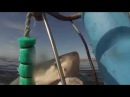 Белая акула выпрыгивает из воды во время съёмки / GREAT WHITE SHARKS BREACHING