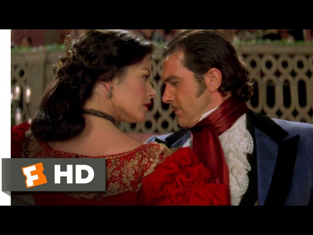 The Mask of Zorro 4 8 Movie CLIP A Very Spirited Dancer 1998 HD