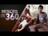 Фокусы от героев в 360 градусов | Сферическое панорамное видео для VR очков