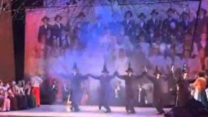 Скрипач на крыше- Еврейский танец с бутылками