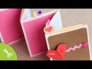 Manualidad dia de la madre Pocket Stand up Album Regalo Día del amor y la amistad 14 Febrero
