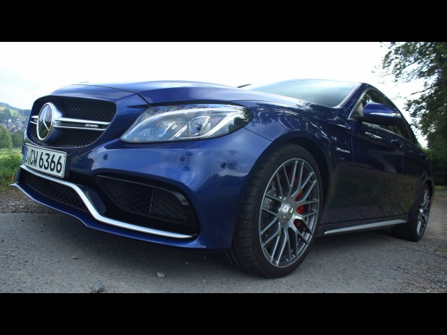 ' 2015 / 2016 Mercedes-AMG C63 S ( W205 ) ' Test Drive Review - TheGetawayer