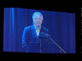 Alan Rickman speaks at Glenn Gould prize concert honouring Leonard Cohen May 1412