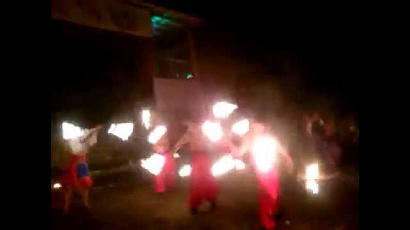 Фаер шоу Черкассы , Кировоград , Кременчуг , Киев Шоу-проект Дыхание Дракона