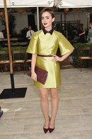 Lily Collins Fashion