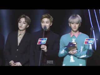 151202 MAMA EXO Best Male Group Album of The year