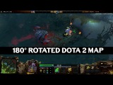 New [DOTA2] 180° Rotated Dota 2 Map