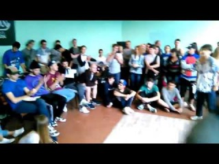 Bboy Fanik vs Bboy Gramatik   ПОТОК ФАНКА 2015