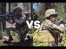British Army Royal Gurkha Rifles vs U.S. Marines - Mock Battle between U.S Marines and Allies