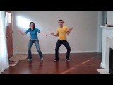 Lindy Hop Steps Made Easy Wiggles Routine (solo jazz dance moves)