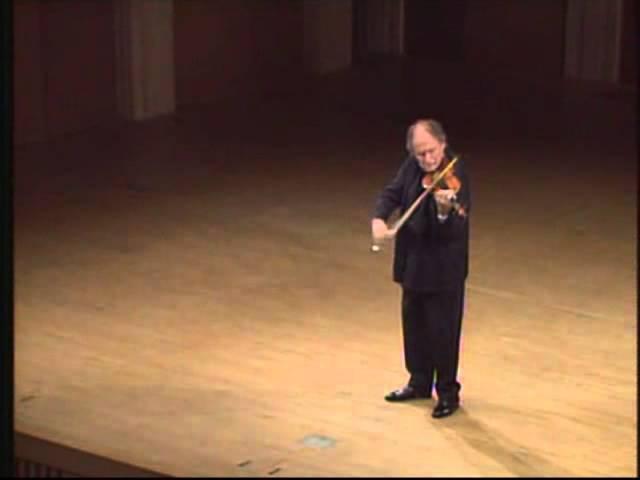 Bach - Chaconne - Gitlis » Freewka.com - Смотреть онлайн в хорощем качестве
