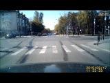 ДТП в Тюмени на перекрестке улиц Республики и Тульская