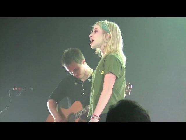 Hayley Williams Josh Farro - You Ain't Woman Enough (Loretta Lynn cover) - Paramore