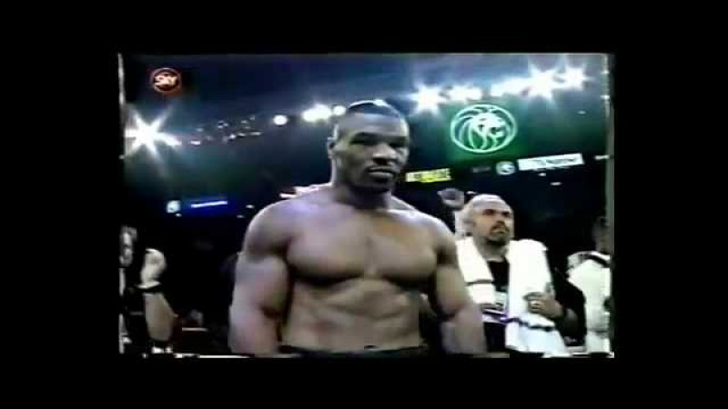 Iron Mike Tyson Highlights KNOCKOUT