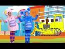 Песенки для детей - Кукутики - Сборник 2 из пяти песенок мультик про машинки