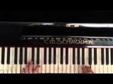 Смоки Мо - Бог любит всех людей пианино