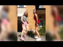 Sexy Ass Twerking.  Two Hot White Girls Sexy Booty Dancing, Big Boobs Shaking to EDM. Win or Fail?