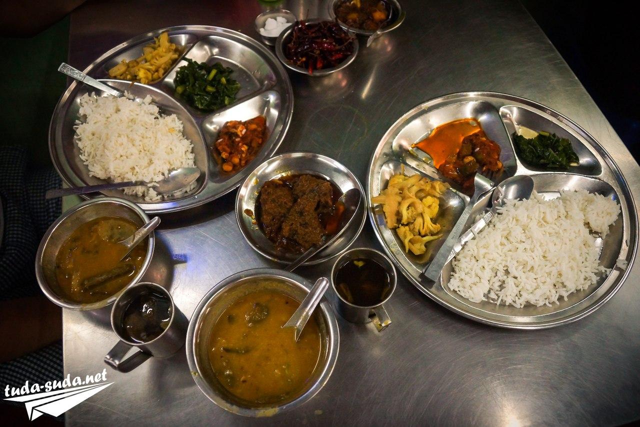 Еда в Мьянме