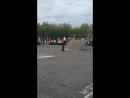 фаер шоу на день России в Воркуте