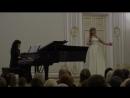 Оффенбах, куплеты Олимпии- исп. Антонина Весенина и Анна Кантор