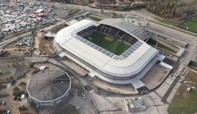 Стадион в Удине