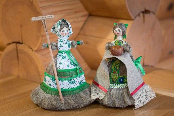 Куклы изо льна