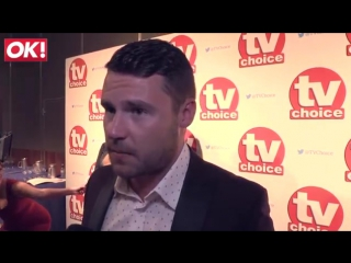 Дэнни Миллер at the TV Choice Awards 2015 / интервью OK!/