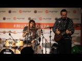 Мастер-класс Грег  (барабаны) Сергей Полянский  - гитара 2015 г
