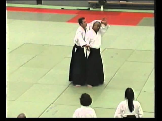 Fujita sensei ushiro ryo katate dori
