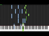 Mad World (Gary Jules Ver.) - Tears for Fears Piano Tutorial (Synthesia)