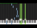Sadness and Sorrow - Naruto [Piano Tutorial] (Synthesia)