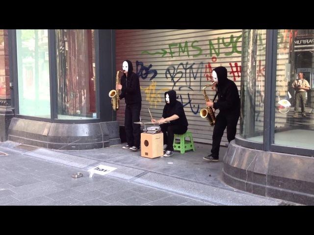 Уличные музыканты. Антверпен.