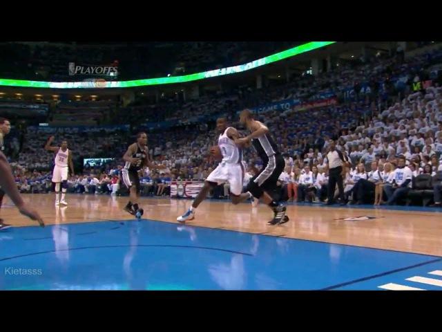 7 место - Serge Ibaka 26 points (11/11 FG) vs Spurs full highlights (2012 NBA Playoffs WCF GM4)