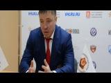 07.11.2015 - Молот-Прикамье - Барс. Пресс-конференция