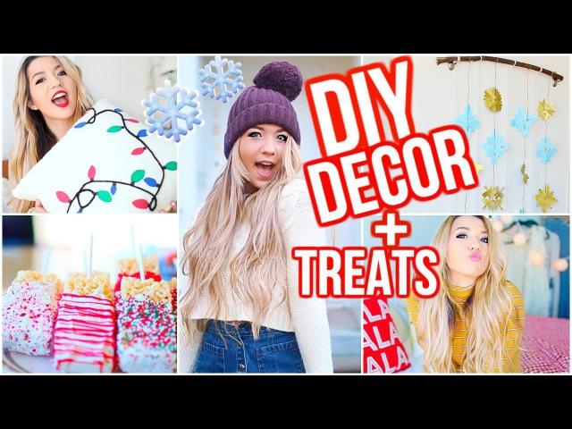 DIY Winter Room Decor, DIY Snacks, Outfits, More Inspiration!