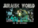 Jurassic World in 90 seconds LEGO animation
