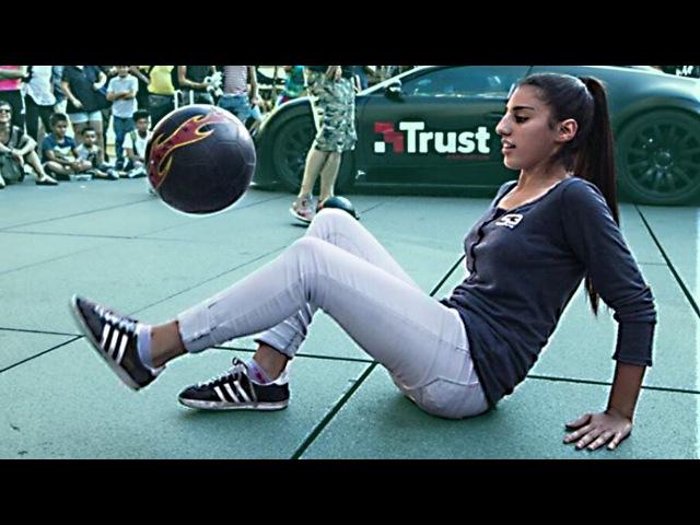 Lisa Zimouche ● World Panna Female Champion ● Freestyle Skills