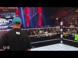 (WWEWM) ВВЕ РО 25.05.2015 - Джон Сина (ч) против Зака Райдера (Матч за чемпионство США)