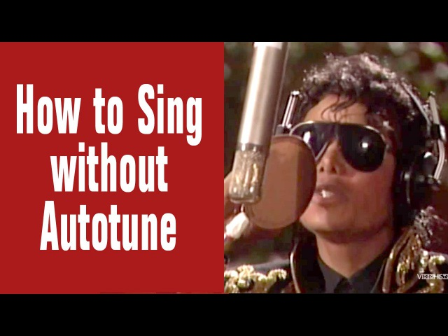 How to Sing without Autotune - Michael Jackson Recording Outtake