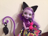 Way Too Wonderland Kitty Cheshire Doll Review [EVER AFTER HIGH]