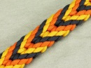 How to make a Plaited Chevron Sinnet Paracord Bracelet