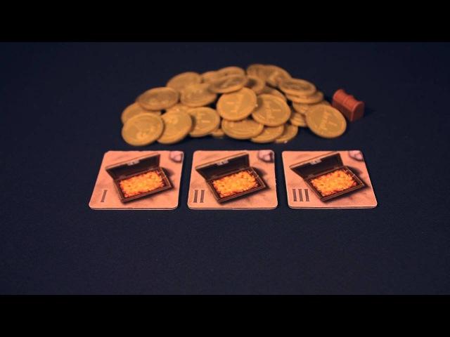 Настольная игра Шакал остров сокровищ правила